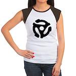 45 RPM Adapter Women's Cap Sleeve T-Shirt
