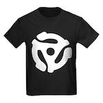 45 RPM Adapter Kids Dark T-Shirt