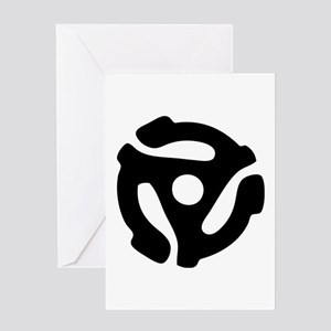 45 RPM Adapter Greeting Card