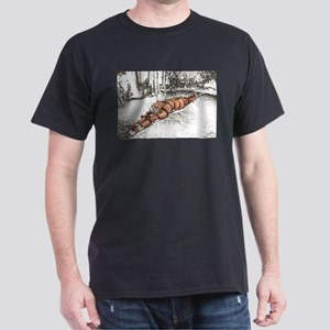 Strapped In Snow Dark T-Shirt