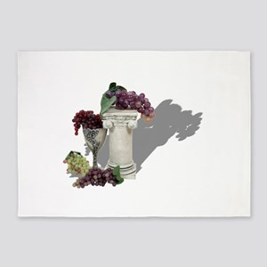 WineCountry060910Shadows 5'x7'Area Rug