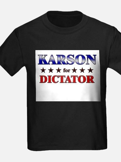 KARSON for dictator T