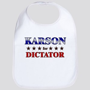 KARSON for dictator Bib
