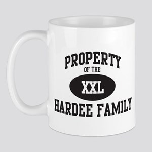 Property of Hardee Family Mug