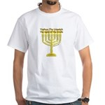 Yeshua, The Light Of The World White T-Shirt