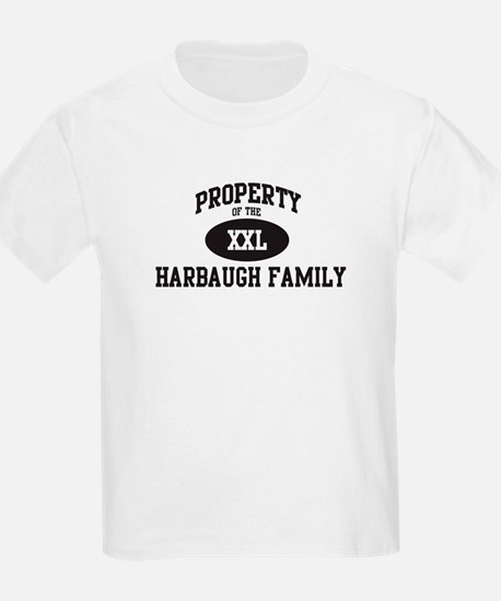 Property of Harbaugh Family T-Shirt