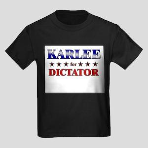KARLEE for dictator Kids Dark T-Shirt