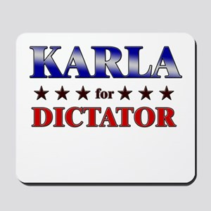 KARLA for dictator Mousepad