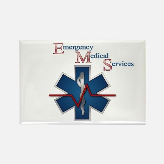 EMS Life Line Rectangle Magnet