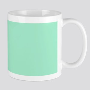 Mint Green Solid Color Mugs