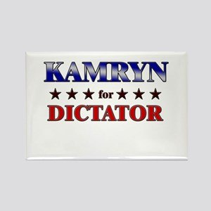 KAMRYN for dictator Rectangle Magnet