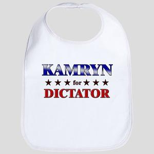 KAMRYN for dictator Bib