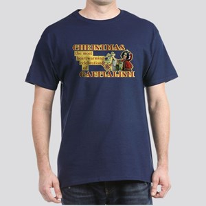 Capitalist Christmas Dark T-Shirt