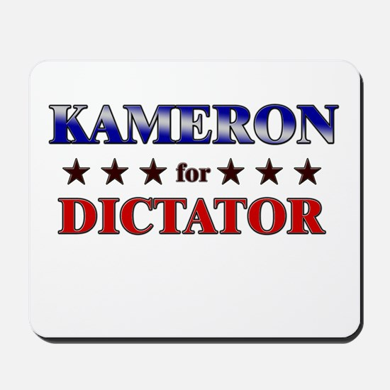 KAMERON for dictator Mousepad