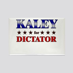 KALEY for dictator Rectangle Magnet