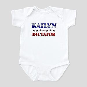 KAILYN for dictator Infant Bodysuit