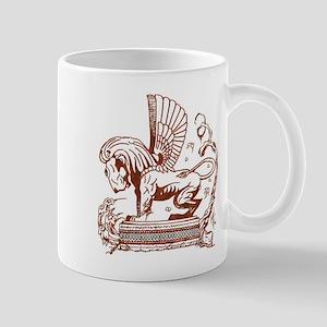 Flying One Eyed Lion mug