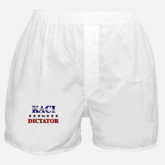 KACI for dictator Boxer Shorts