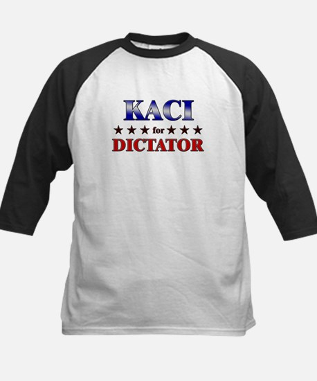 KACI for dictator Kids Baseball Jersey