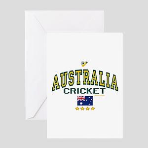 AUS Australia Cricket Greeting Card