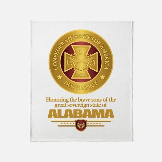Alabama SCH Throw Blanket