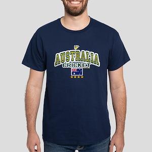 AUS Australia Cricket Dark T-Shirt
