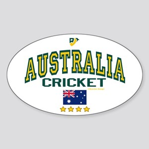 AUS Australia Cricket Sticker (Oval)