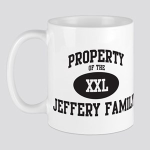 Property of Jeffery Family Mug