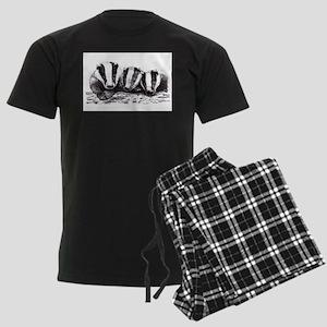 Badgers Men's Dark Pajamas