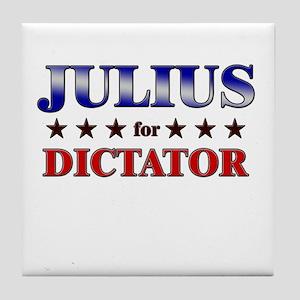 JULIUS for dictator Tile Coaster