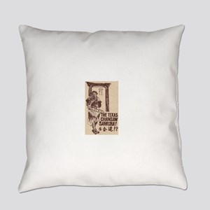 The Texas Chainsaw Samurai Everyday Pillow