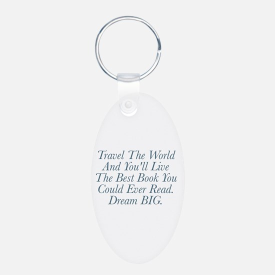 Live The Best Book Keychains