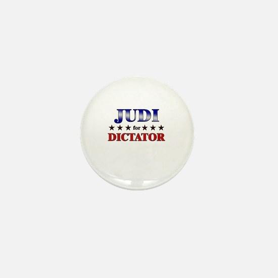 JUDI for dictator Mini Button