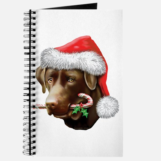 Chocolate Lab Christmas Journal