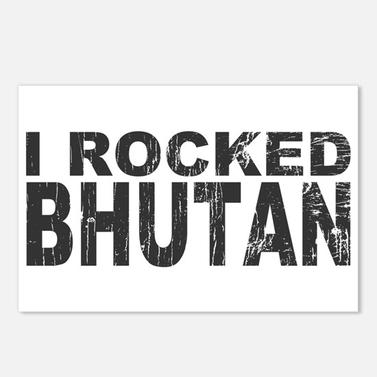 I Rocked Bhutan Postcards (Package of 8)