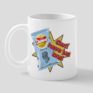 Natural Blue Danes VS Chips Mug