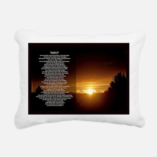 Cute Psalm Rectangular Canvas Pillow
