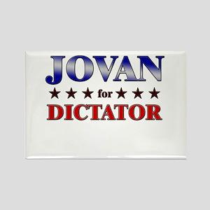 JOVAN for dictator Rectangle Magnet