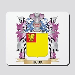 Kuba Coat of Arms - Family Crest Mousepad