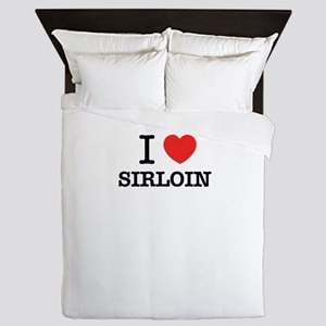 I Love SIRLOIN Queen Duvet