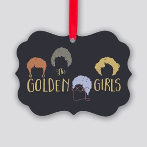 Golden Girls Minimalist Ornament
