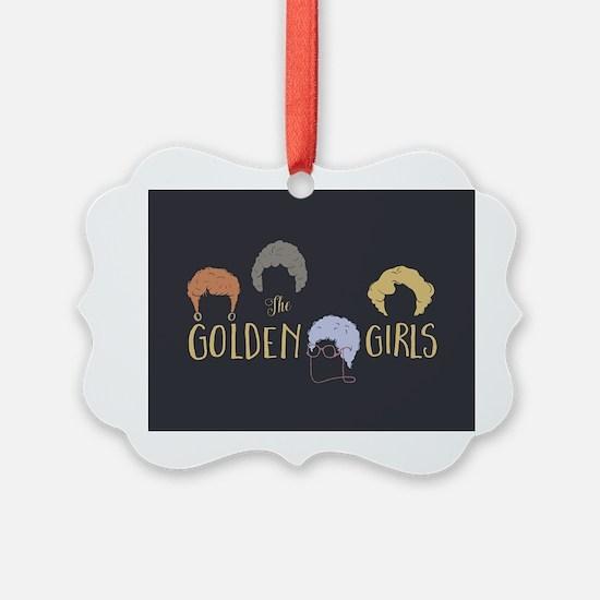 Golden Girls Minimalist Ornament