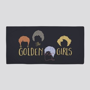 Golden Girls Minimalist Beach Towel