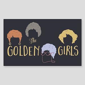 Golden Girls Minimalist Sticker