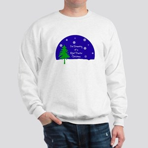 A Red Tractor Christmas Sweatshirt