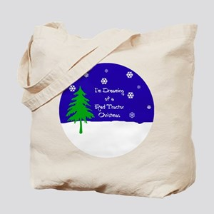 A Red Tractor Christmas Tote Bag