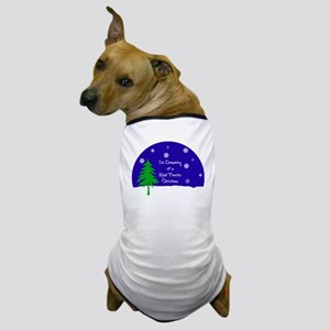 A Red Tractor Christmas Dog T-Shirt