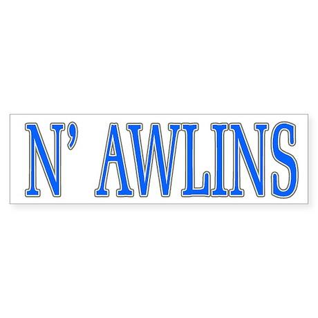 N'Awlins Street Tiles Bumper Sticker