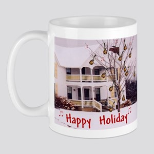 Mandolin and Happy Holidays Mug