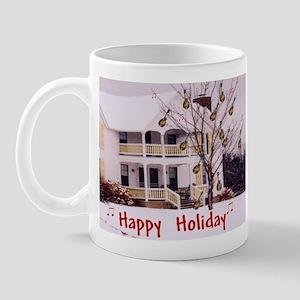 Mandolin and Happy Holidays Mug